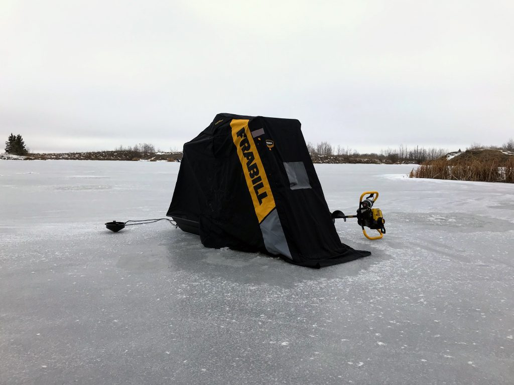 Ice fishing Frabill Recon tent/flip up/shanty