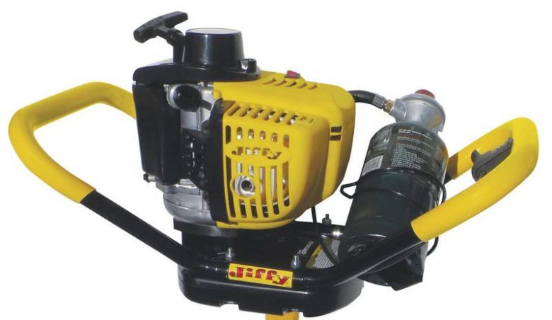 Jiffy Pro4 lite propane auger