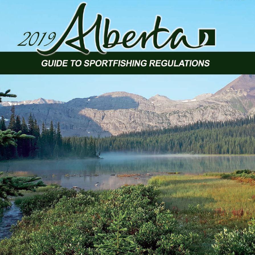 Alberta Fishing Regulations Cover