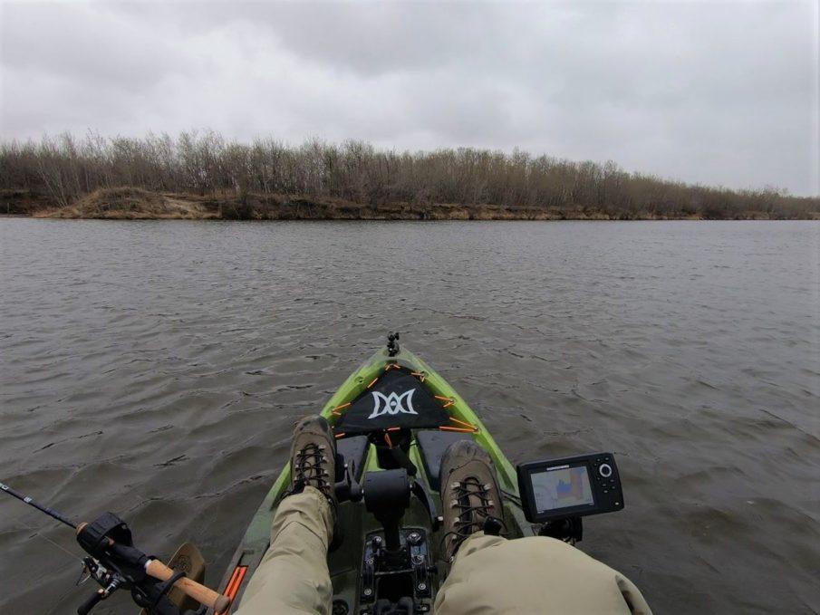 Pescador Pilot, pedal drive kayak