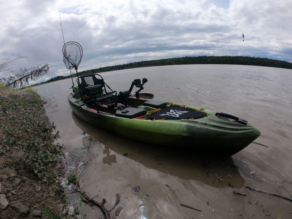 Pescador Pilot 12 on the River Bank