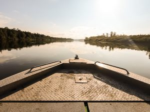 jet boating the north saskatchewan river