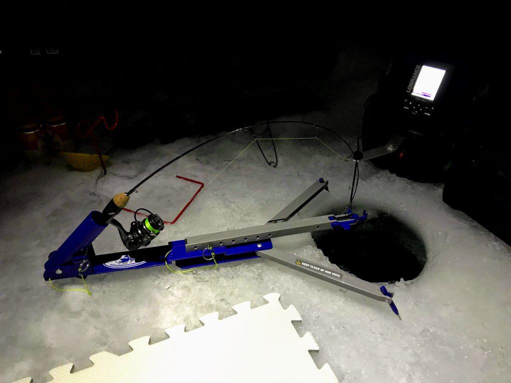 Jawjacker, ice fishing