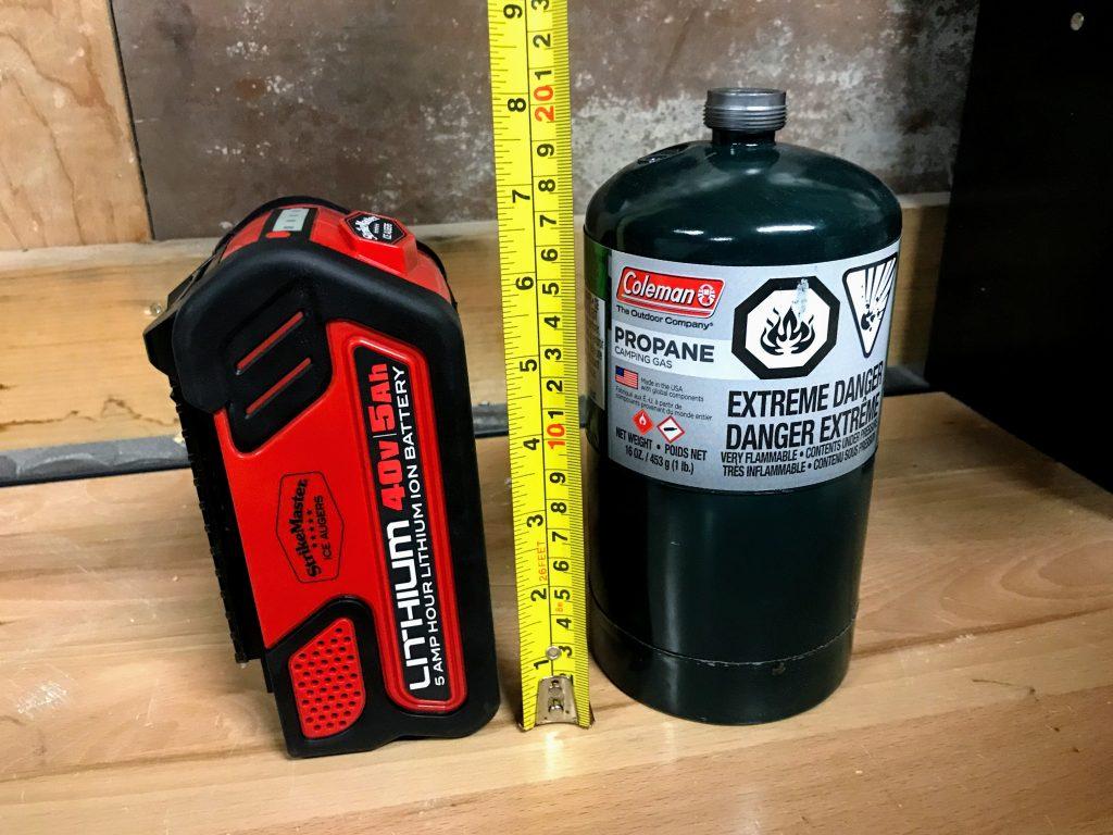 Strikemaster 40V battery