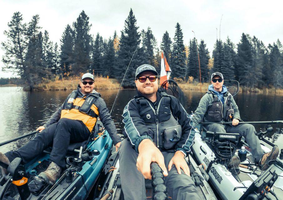 Aquabatics kayak fishing ambassadors