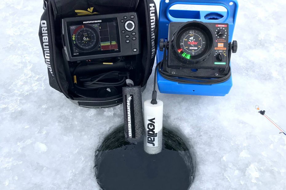 Humminbird Helix and Vexilar FL-8 SE
